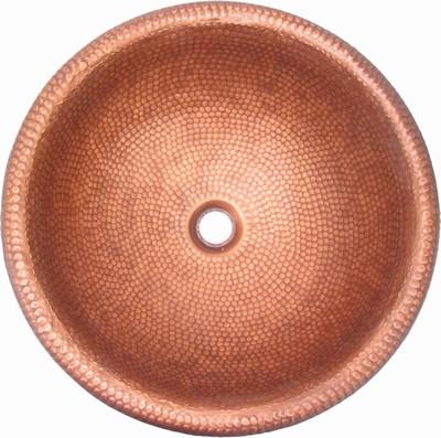 SJ-CB05( Gold Bronze), 황동세면기(탑볼&매립형)