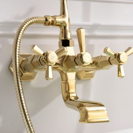 SJ-FAQ 07 ( Bath-tub gold mixer )